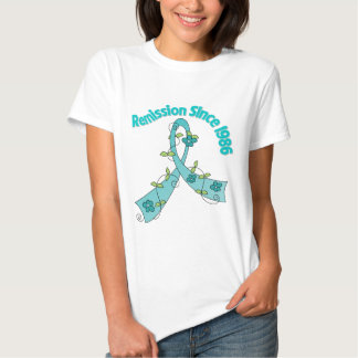 Remission Since 1986 Ovarian Cancer Tshirt