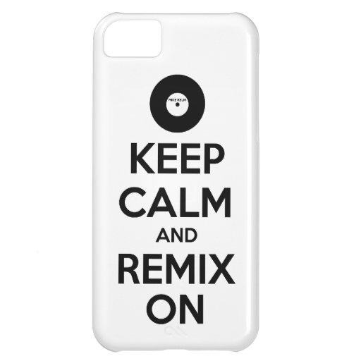 Remix On - iPhone 5 Case