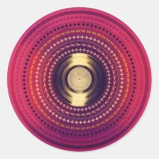 Remix Round Sticker