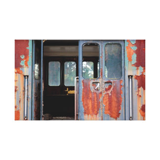 Remnants in Rust Canvas Print