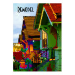 Remodel Homes Pack Of Chubby Business Cards