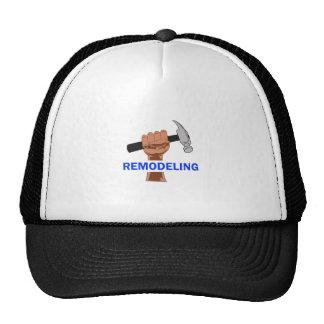 REMODELING TRUCKER HAT