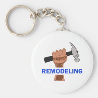 REMODELING BASIC ROUND BUTTON KEYCHAIN