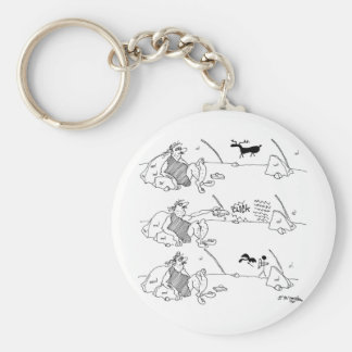 Remote Control Cartoon 5715 Key Ring
