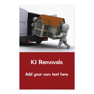 Removals firm flier 14 cm x 21.5 cm flyer