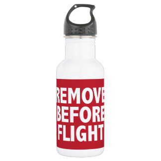 Remove Before Flight 532 Ml Water Bottle