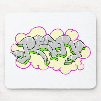 Remy Name Graffiti Mouse Pad