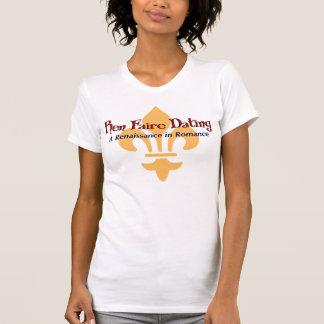 Ren Faire Dating.com Fluer De Lis T-shirt