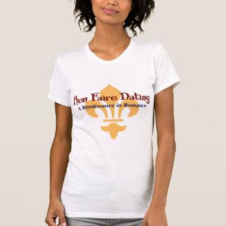 Ren Faire Dating com Fluer De Lis T-shirt