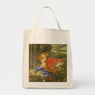 Renaissance Angel Art, Procession of the Magi Grocery Tote Bag
