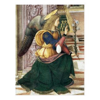 Renaissance Angel Christmas Postcard Pinturicchio