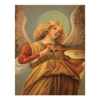Renaissance Angel Playing Violin Melozzo da Forli Custom Invitations