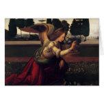 Renaissance Annunciation Angel card
