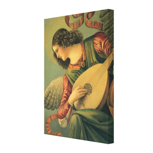 Renaissance Art, Angel Musician, Melozzo da Forli Canvas Prints