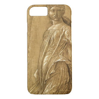 Renaissance Art, Dancing Muse by Andrea Mantegna iPhone 7 Case