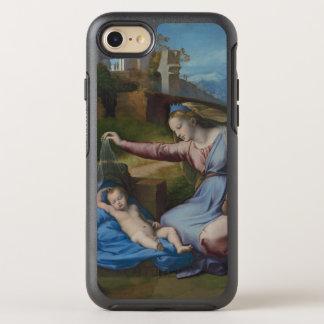 Renaissance Art Madonna with Blue Diadem OtterBox Symmetry iPhone 7 Case