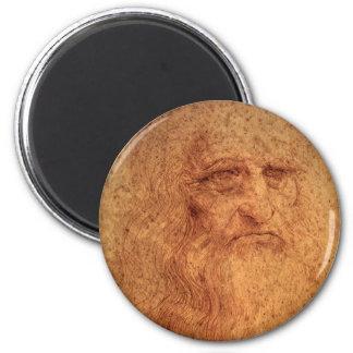 Renaissance Art Self Portrait by Leonardo da Vinci Magnet