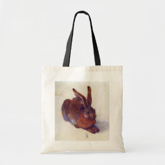 Renaissance Art, Young Hare by Albrecht Durer Budget Tote Bag
