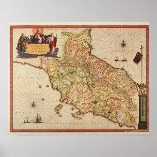 Renaissance Cartography Poster