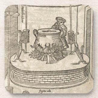 Renaissance cook drink coasters