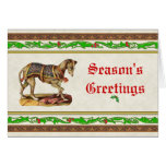 Renaissance Greyhound Christmas Card