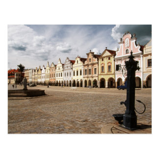 Renaissance Houses Postcard