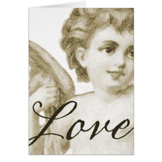 Renaissance Love, Sepia Card