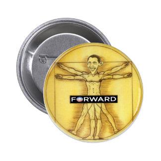 Renaissance Obama 6 Cm Round Badge
