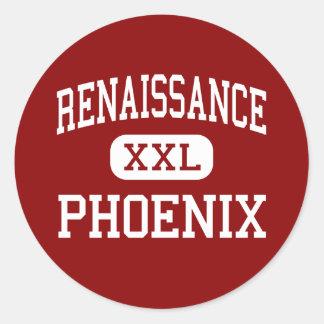 Renaissance - Phoenix - High - Detroit Michigan Round Sticker