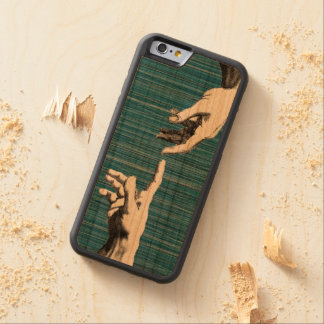 renaissance pop art michelangelo cherry iPhone 6 bumper