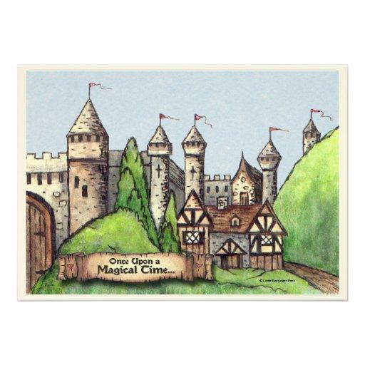 Renaissance Village Personalized Invitation