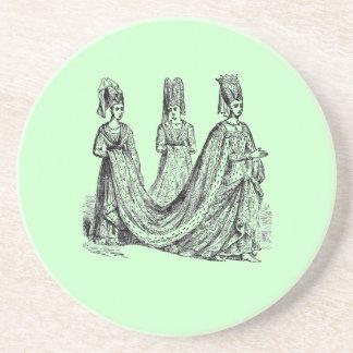 Renaissance Wedding Party Coaster