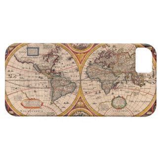 Renaissance World Map Barely There iPhone 5 Case
