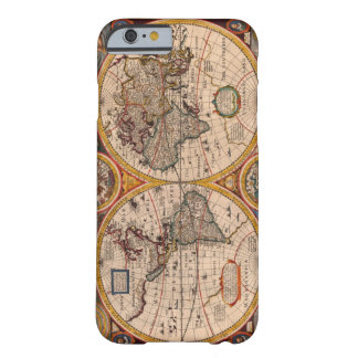 Renaissance World Map Barely There iPhone 6 Case