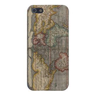 Renaissance World Map Cover For iPhone 5