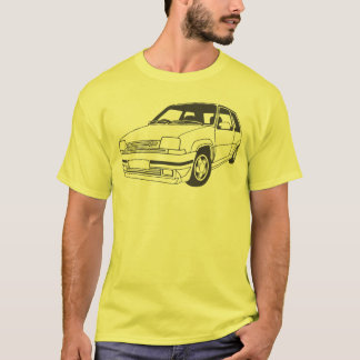 Renault 5 GT Turbo inspired T-shirt