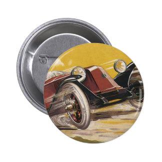 Renault 6 Cm Round Badge