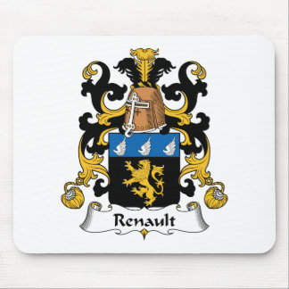 Renault Family Crest Mouse Pad