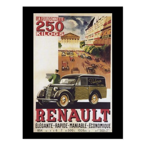 Renault Post Cards