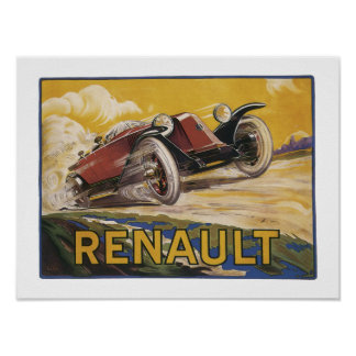 Renault Poster
