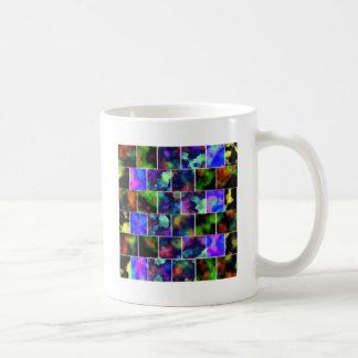Rendered Blocks Coffee Mugs