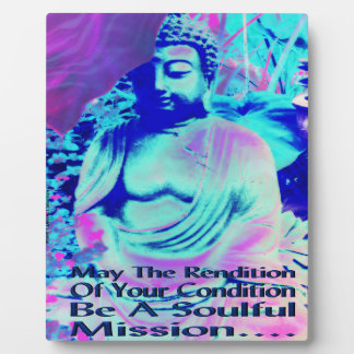 Rendition Buddha Picture Plaque