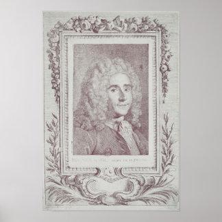 Rene Antoine Ferchault de Reaumur Poster