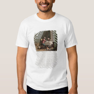 Rene Descartes (1596-1650) writing his world syste Tee Shirts