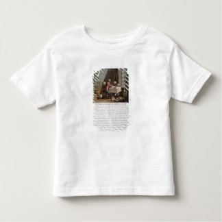 Rene Descartes (1596-1650) writing his world syste Toddler T-Shirt