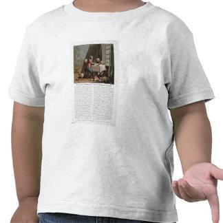 Rene Descartes (1596-1650) writing his world syste Tee Shirt
