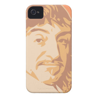 Rene Descartes iPhone 4 Covers