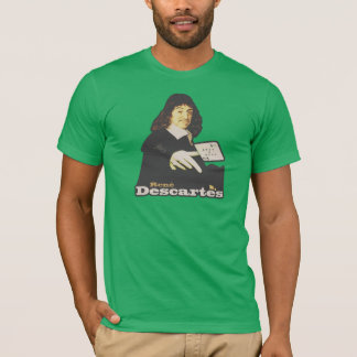 René Descartes Funny Tribute T-Shirt