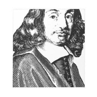 Rene Descartes Notepad
