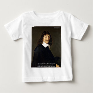 Rene Descartes Solving Problems Wisdom Quote Gifts T-shirts